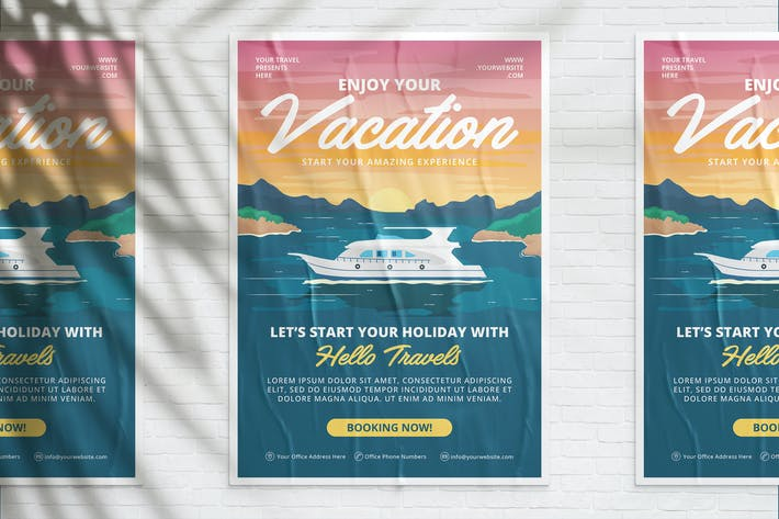 Thumbnail for Enjoy Your Vacation Flyer