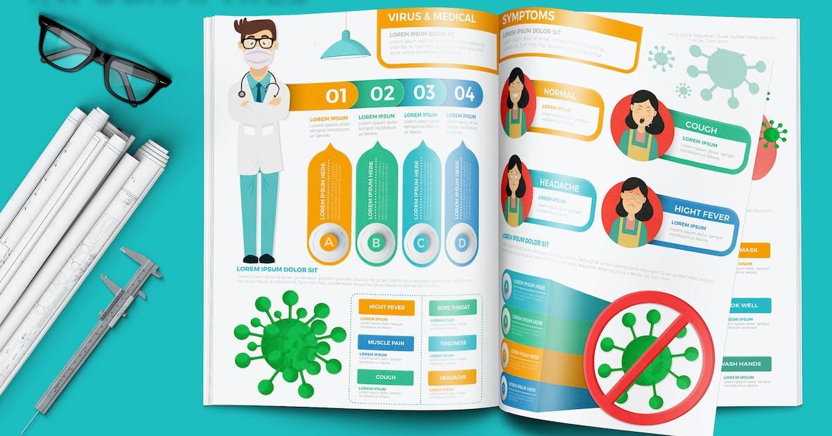Download Corona Virus & Medical Infographics by mamanamsai