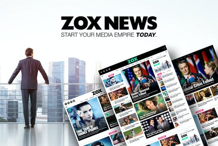 Zox News - Professional WordPress News & Magazine
