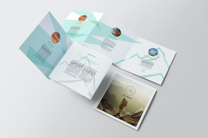 Mountains / Hiking Brochure