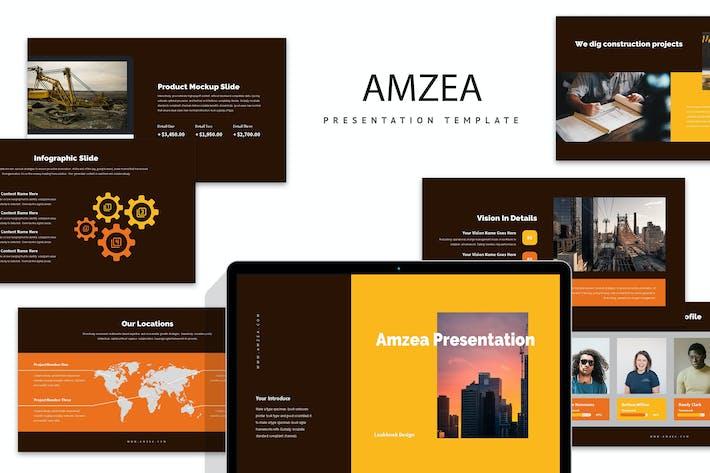Thumbnail for Amzea: Bauprojekt Google Folien