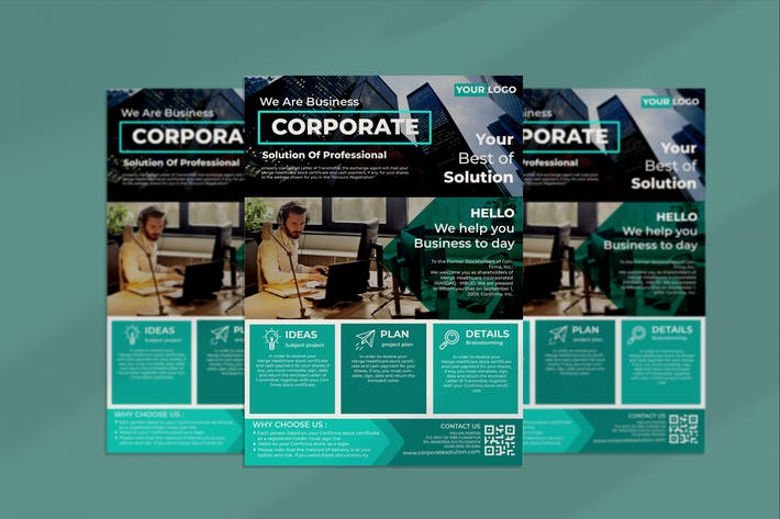 Thumbnail for Corporate Solution Flyer