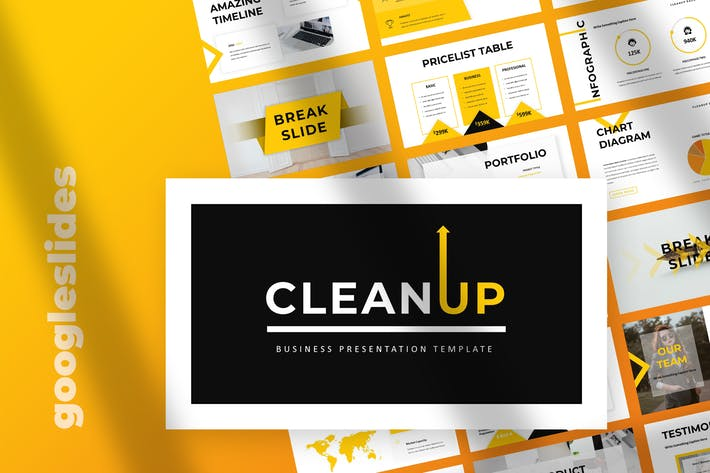 Thumbnail for Clean Up - Business Google Slides Presentation