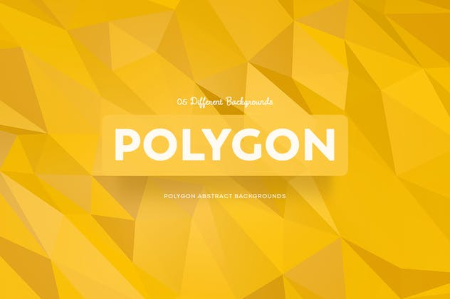 Polygon Abstract Backgrounds - product preview 0