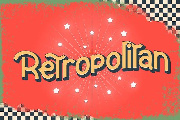 Cover Image For Retropolitan - Police