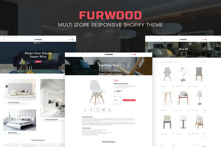 Thumbnail for FurWood | Multi-Store Responsivo Shopify Tema