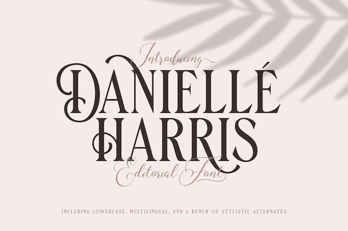 Thumbnail for Danielle Harris - Editorial Font