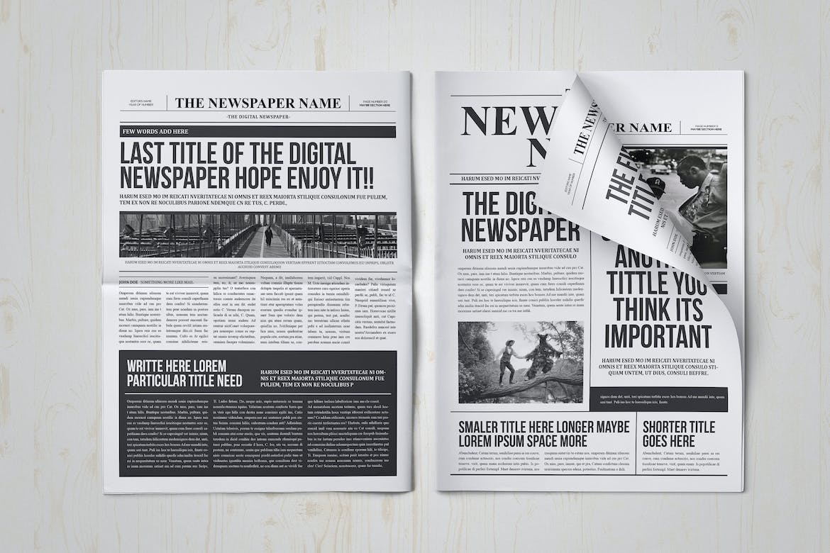 34 Great Indesign Newspaper Templates Desiznworld