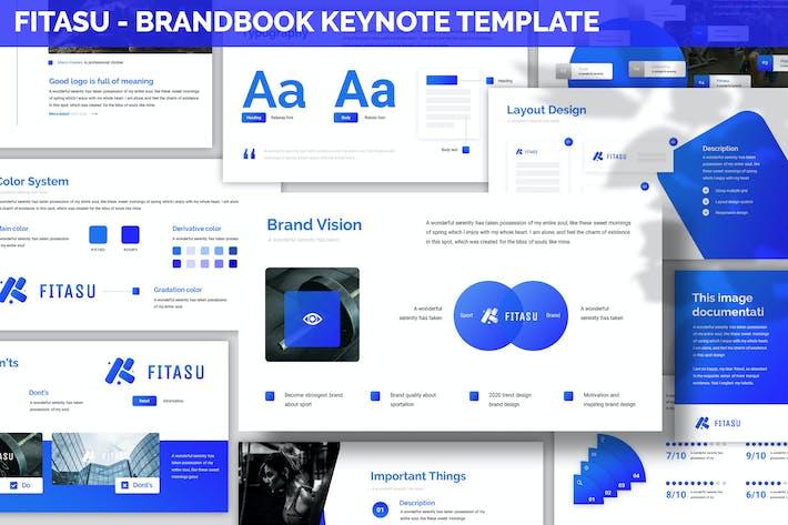 Thumbnail for Fitasu - Brandbook Keynote Template