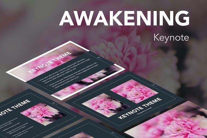 Thumbnail for Awakening Keynote Template