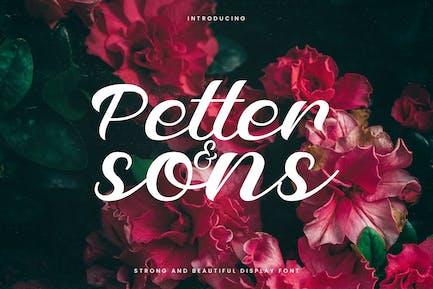 Petter And Sons - Romantic Beauty Script