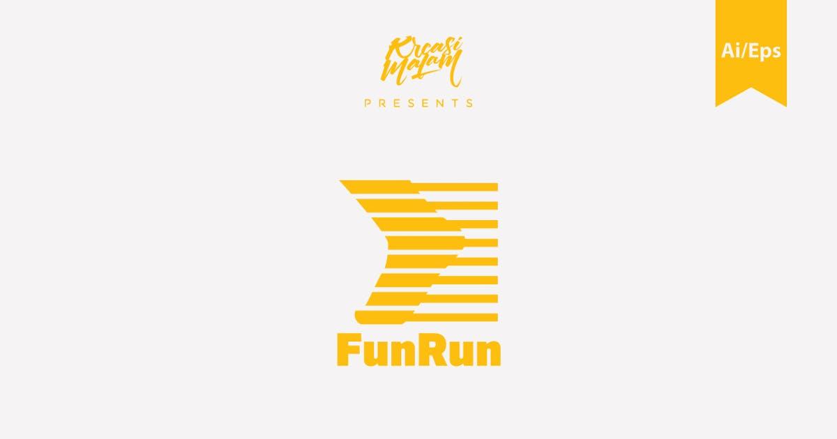 Download FunRun Logo Template by Ijajil