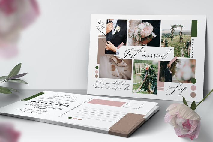 Simple Collage Invitation
