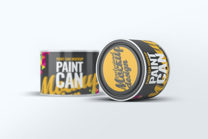 Thumbnail for Paint Can Mock-Up v.2