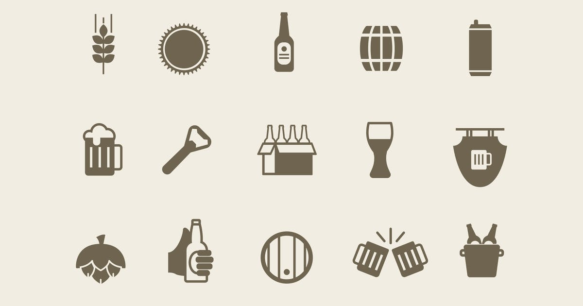 Download 15 Beer Ale Icons by creativevip