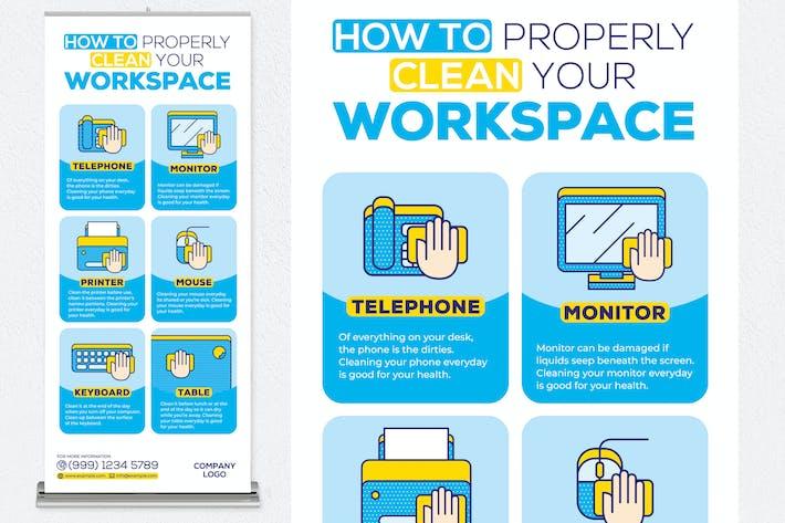 Thumbnail for Comment nettoyer correctement votre bannière de correctif cumulatif d'espace de travail
