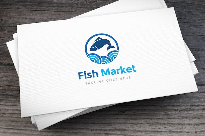 Thumbnail for Fish Market Logo Template