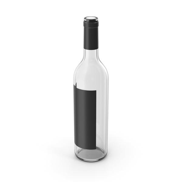 Бутылка вина пустая