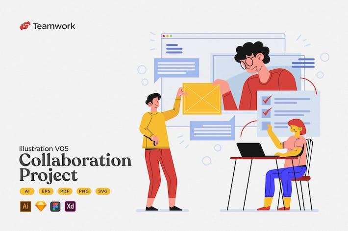 Teamwork - Collaboration Group Projekt