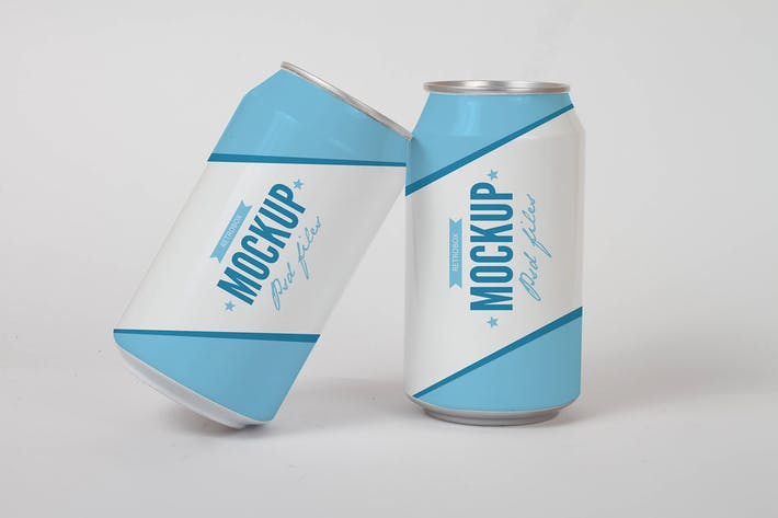 Thumbnail for Drink Soda Can Mock Up