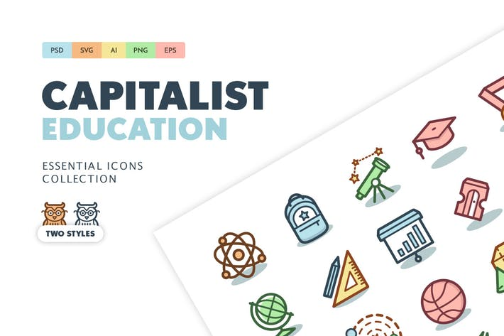 Cover Image For Capitalist Icons: Education