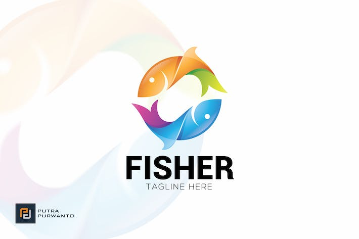 Thumbnail for Fisher - Logo Template