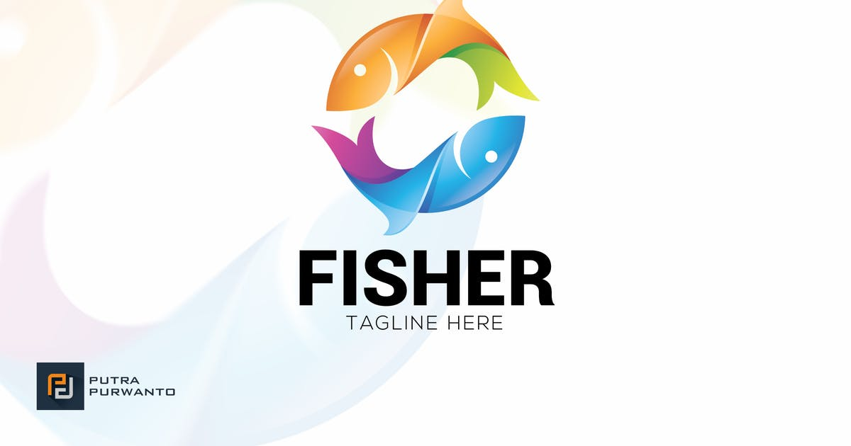 Download Fisher - Logo Template by putra_purwanto