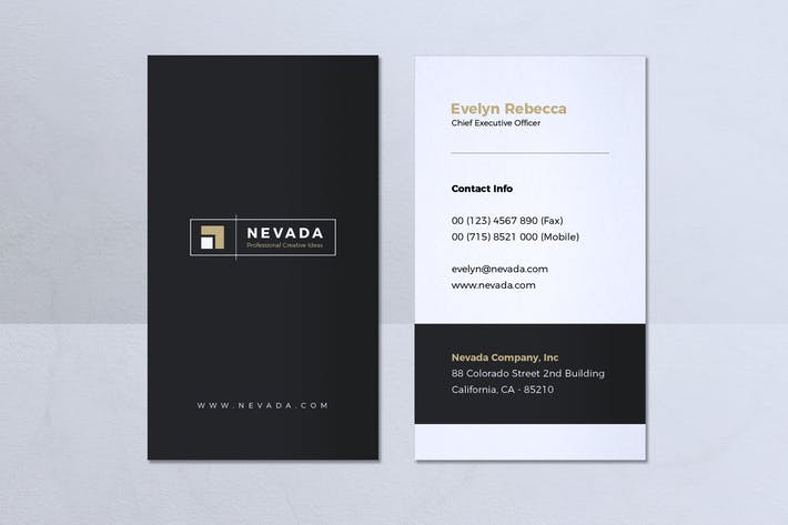 Thumbnail for Minimalist Business Card Vol. 25