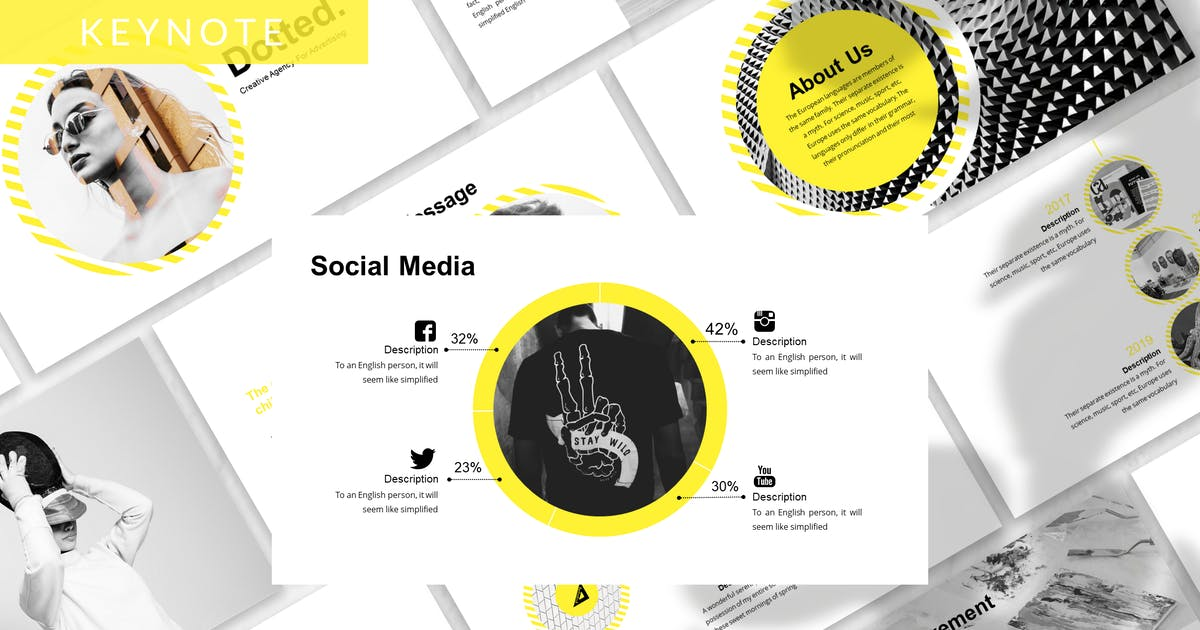 Download Dotted - Business Keynote Template by 83des