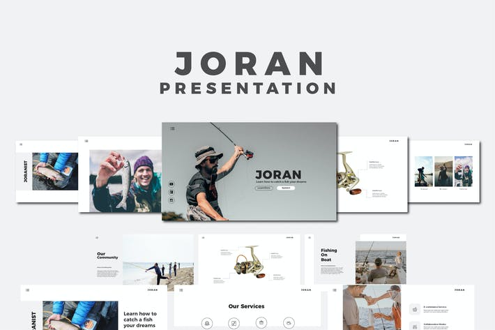Thumbnail for Joran - Keynote Templates