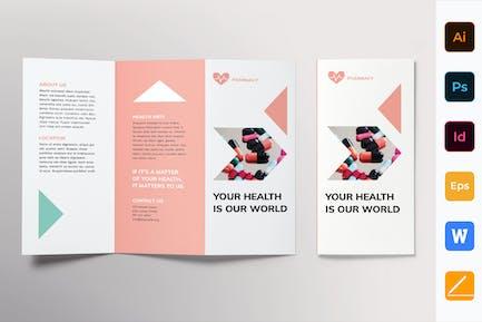 Pharmacy Brochure Trifold