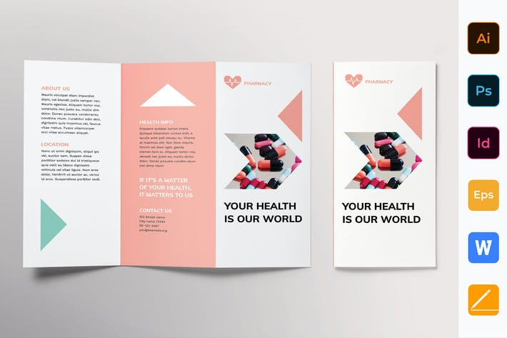 Thumbnail for Pharmacy Brochure Trifold