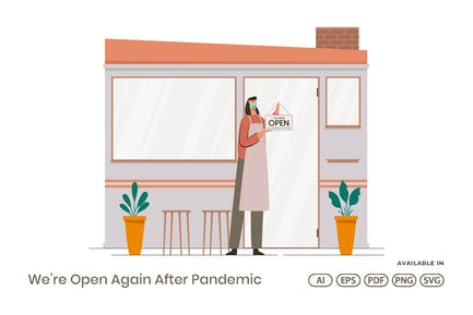 We're Open Again After Pandemic