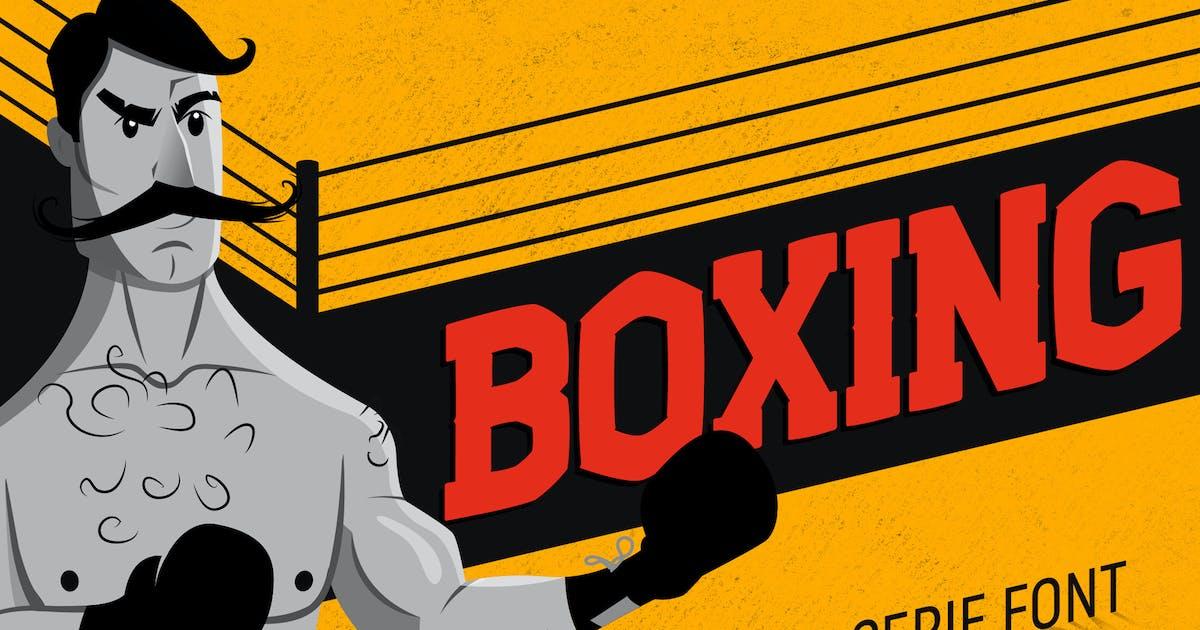 Download Boxing - Slab Serif Font by CorgiAstronaut