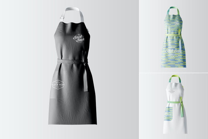 Thumbnail for Restaurant and Home Kietchen Apron Mockup-03
