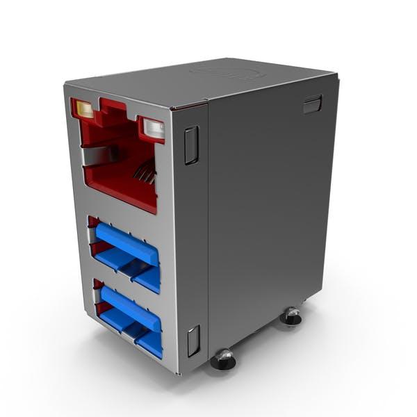 Разъем USB LAN