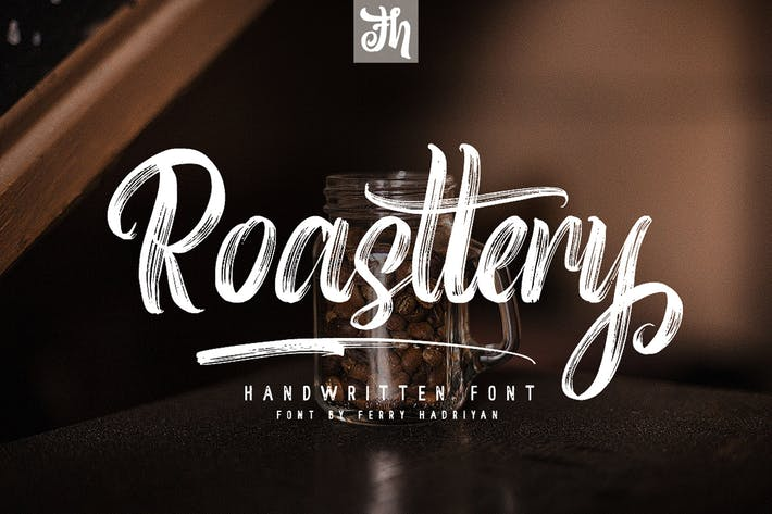 Thumbnail for Roasttery - Handwritten Font