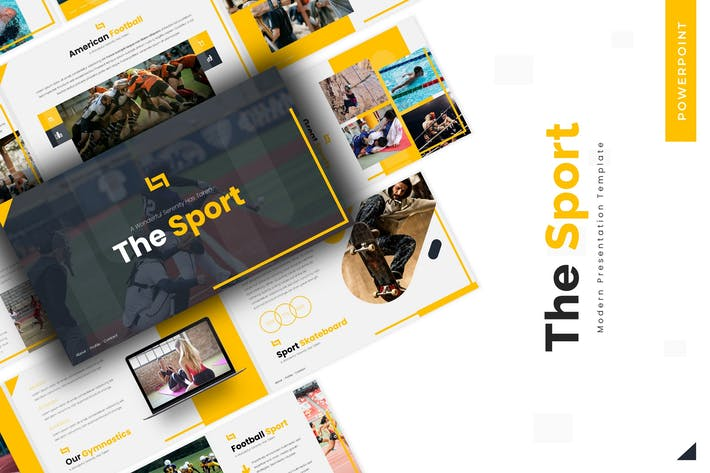 Thumbnail for The Sport - Powerpoint Template
