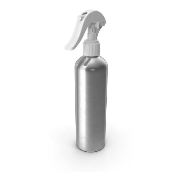 Botella de Aluminio con Spray Blanco Top 250 ml