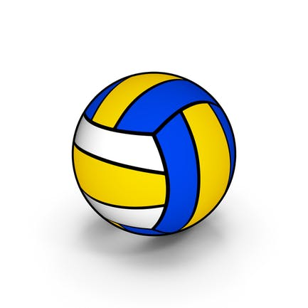 Cartoon Volleyball