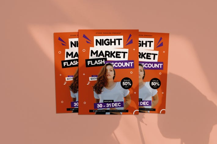 Thumbnail for Night Market Flyer