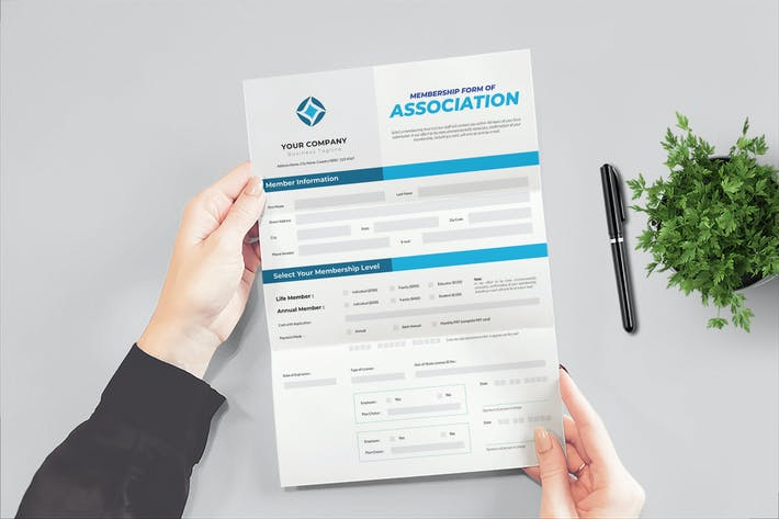 Thumbnail for Clean Business Form