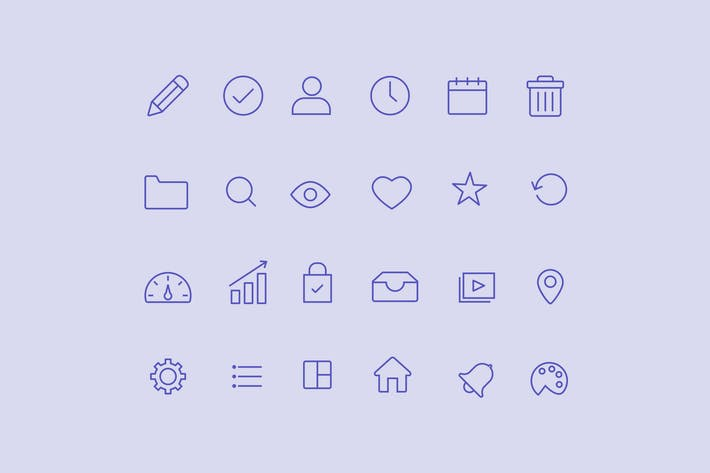 Thumbnail for 20 Admin Dashboard Icons