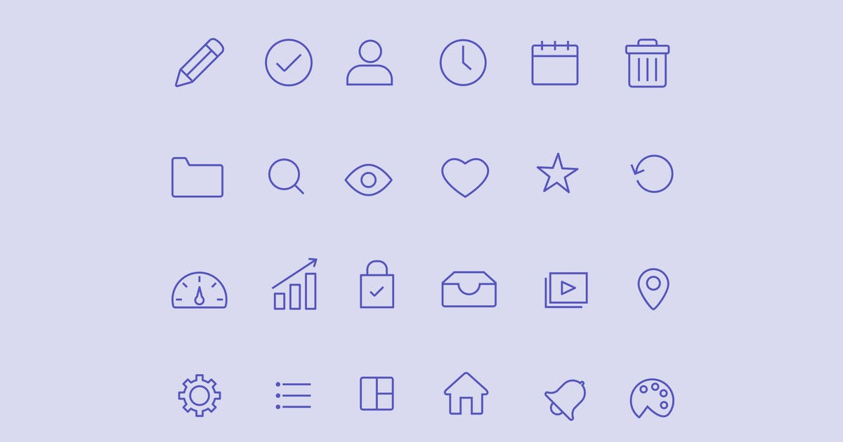 Download 20 Admin Dashboard Icons by creativevip