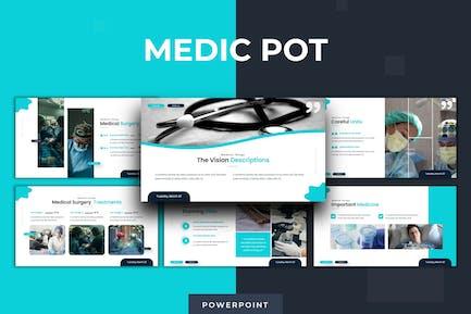 Medic Pot  - Powerpoint Template