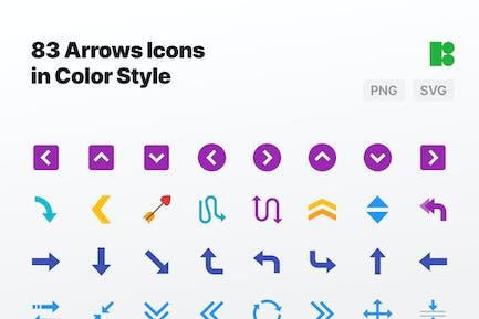 Farbe - Arrows