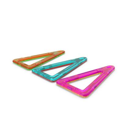 Magnetische Designer gestreckte Dreiecke