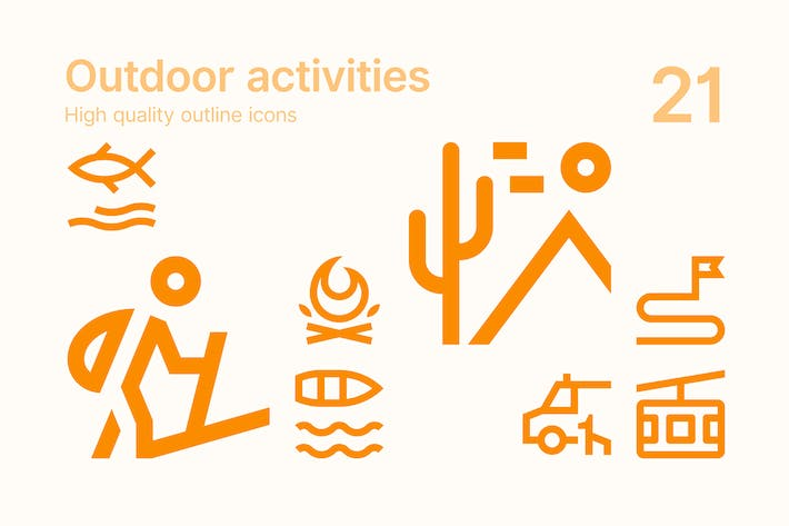Thumbnail for Outdoor Activities Icons