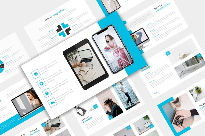 Thumbnail for Ключ бизнес-презентации - iWANtemp