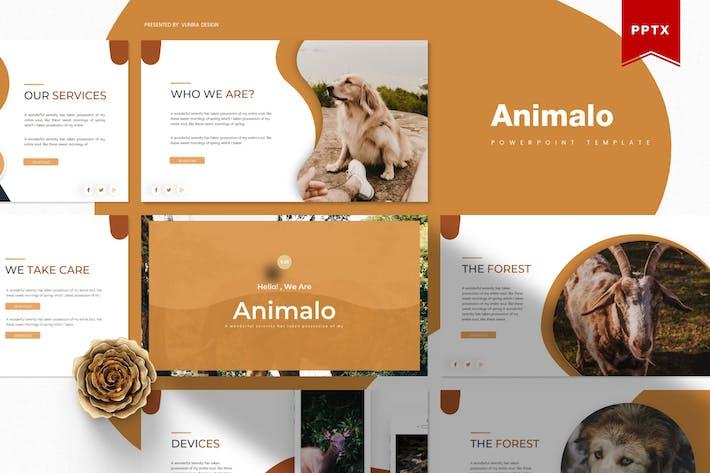 Thumbnail for Animalo   Шаблон Powerpoint